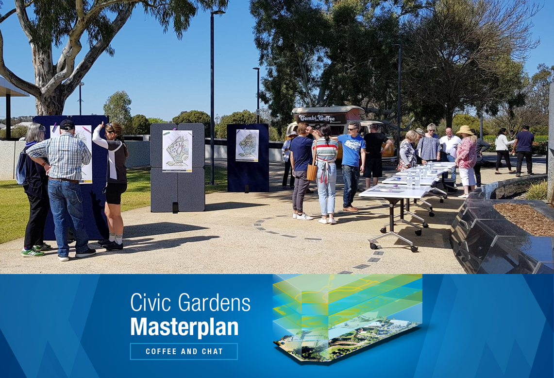 Saturday Engagement Event photo - Civic Gardens Masterplan
