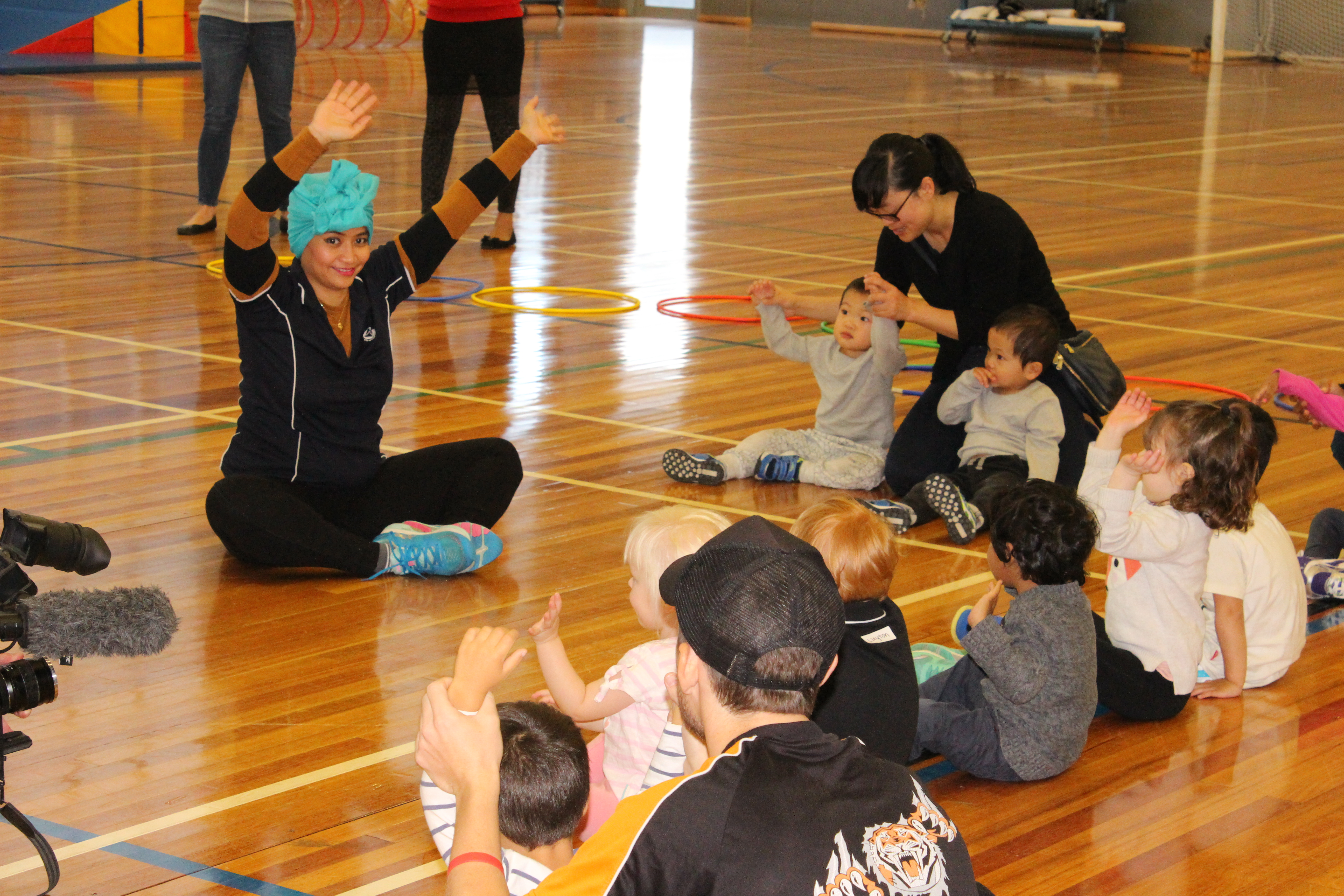 Kindy Gym circle
