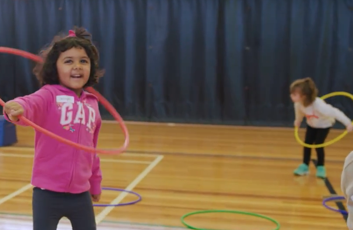 Kindy Sports hoops