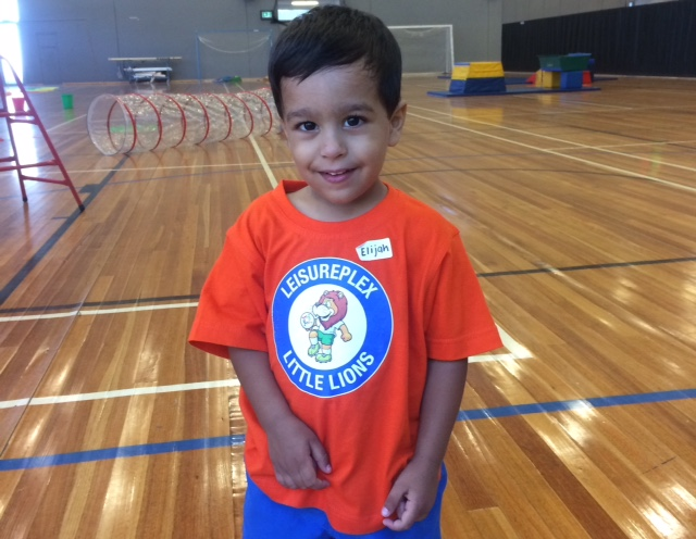 Kindy Gym Little Lion
