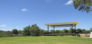 Civic Stage and Amphitheatre grass area