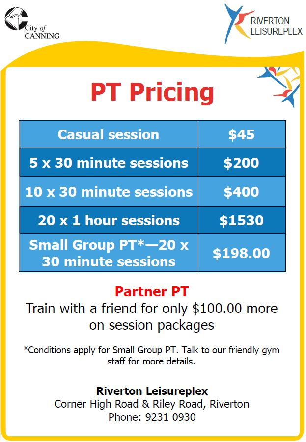 RLP PT Pricing