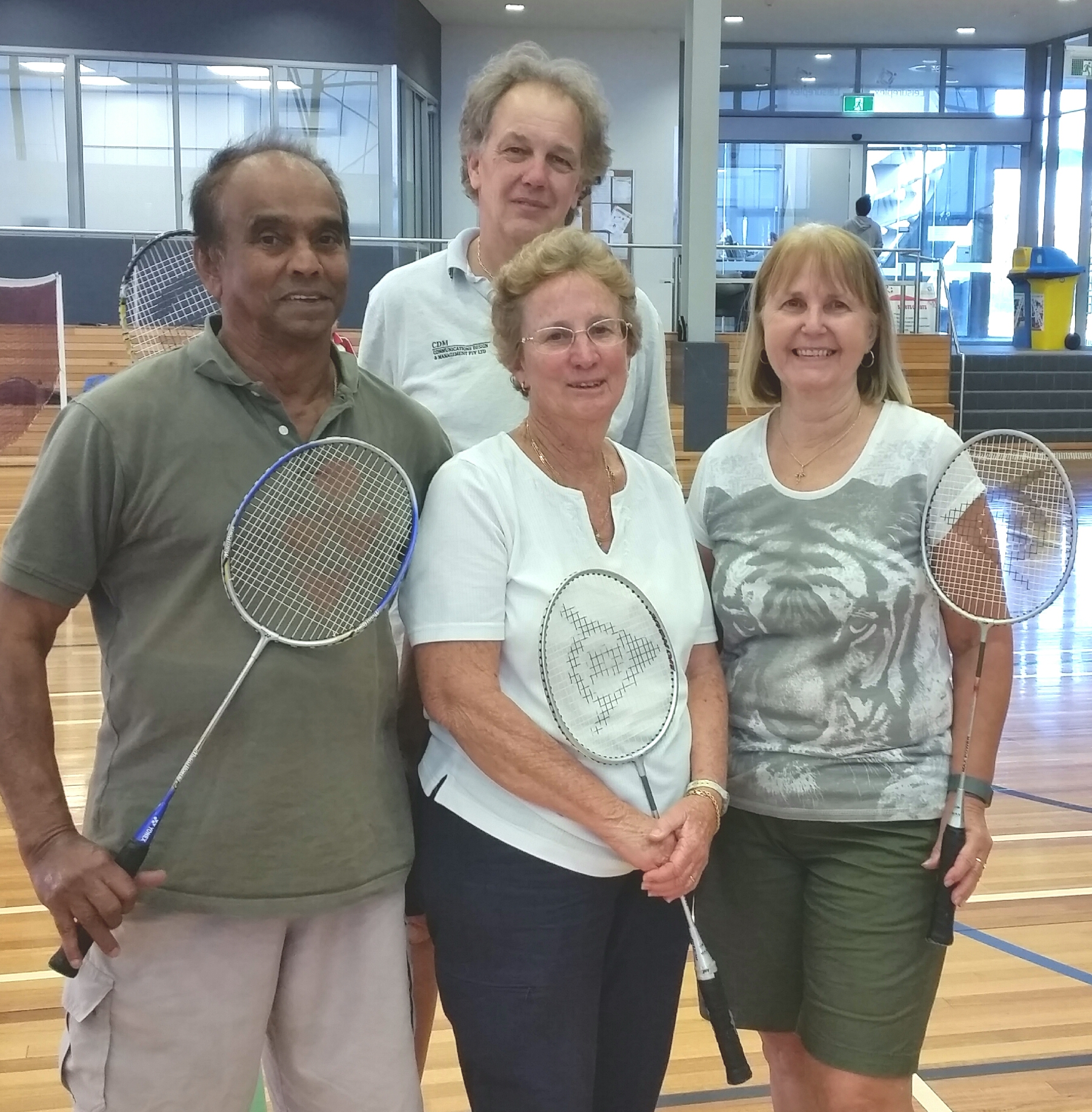 Over 50s Badminton